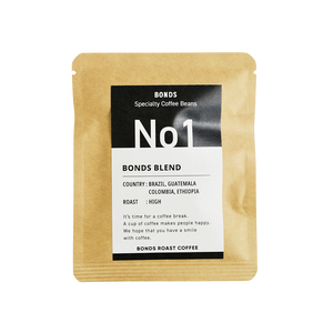 BONDS COFFEE BAG 001