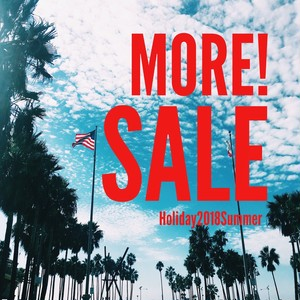 ☆☆MORE SALE☆☆- Holiday 2018 Summer-