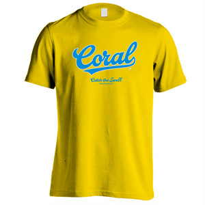 CORAL Tシャツ2018:イエロー