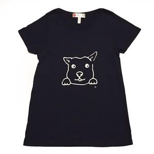犬Tシャツ レディース Aライン