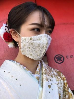 ☆成人式用振袖マスク☆