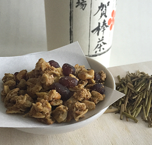 加賀棒茶と小豆のグラノーラ