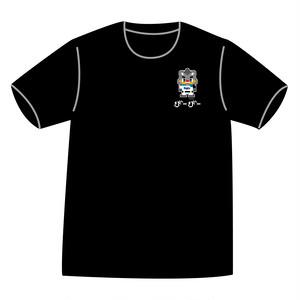 ドットファイターズ 「B・B」  Tシャツ ブラック