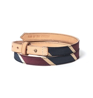 【SON OF THE CHEESE】TYE belt(RED)