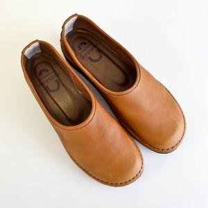 オイルシュリンクモックシューズ(Brown)art.373-63424 /ramble comfort