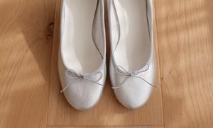 order original ballet shoes (Silver/フラット)