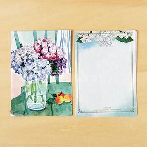 メモ紙 紫陽花 ME07