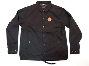 GRAPEVINE ASIA / STAMP LEATHER PATCH COACH JACKET / 2color