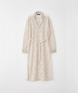 (JUHA) CORD LACE LONG COAT