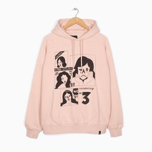 by Parra - hooded sweater perma styled 5 (Pink)