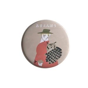 ゆるっと缶バッジ あまえんぼう (55mm)