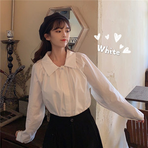 【トップス】秋冬新作デザイン感韓国風ゆったり合わせやすいシャツ