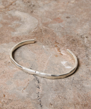 SILVER SMOOTH BANGLE