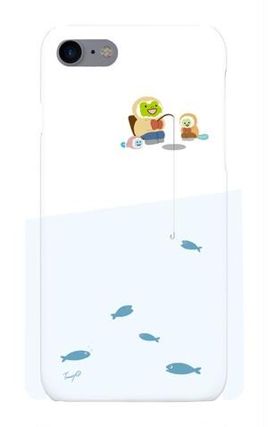 iPhoneケース【冬の釣り】