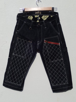 CROPPED-PANTS Type1(白糸・ボタンフライ)