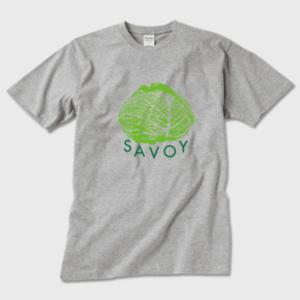 SAVOY(サボイ・キャベツ)1  Tシャツ グレー