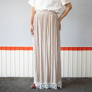 old rayon skirt  made in USA