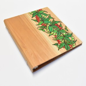 Wood File A5 【Mokihana&Tuberosa Lei】