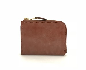 RE.ACT Bridle Leather L-Fastener Wallet Hazel