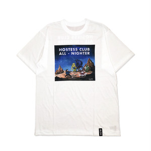 Hostess Club All-Nighter 2017 Tee  -White-【OFFICIAL GOODS】
