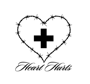 HEART HURTS Tシャツ