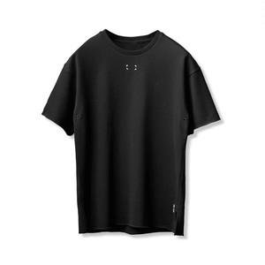 【ASRV】フレンチテリーオーバーサイズTシャツ - Black