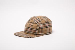TARTAN CHECK CAMP CAP