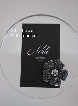 MILI flower ブローチ