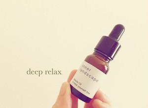 deep relax / SOMI Original Blend Oil 《inner landscape》