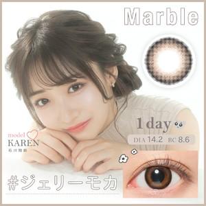 マーブルワンデー(Marble 1DAY)《JellyMoca》ジェリーモカ[10枚入り]
