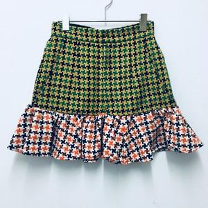 switching mini skirt