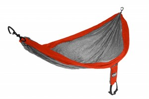 ENO Single Nest hammock Orange/Grey