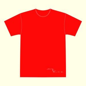 『名もなく 貧しく 美しくもなく』公演Tシャツ(赤)