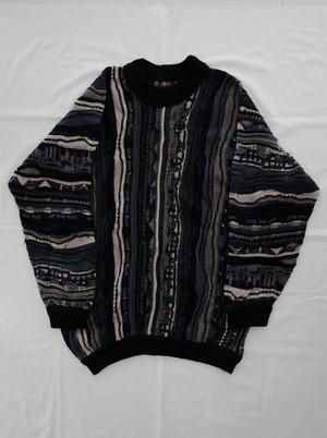 Used COOGI monotone knit