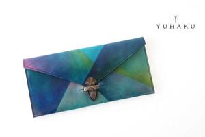 ユハク|YUHAKU|Acquacolori|アクアコローリシリーズ|札入れ|ロングウォレット