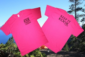 "KOOK x CRUST x SLOW SQUAD ""KEEP IT KOOK"" T SHIRTS"