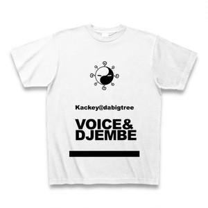 Kackey@dabigtree オリジナルTシャツ ホワイト