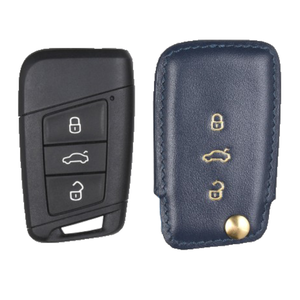 Volkswagen 専用 TypeC Car Key Case Shrink Leather Case