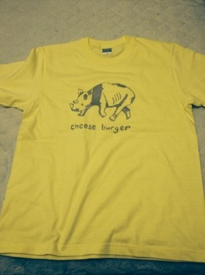 cheese burger Tシャツ Men's