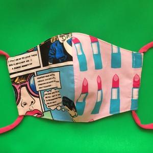 レディースファッションマスク  リップスティック 1