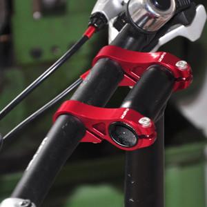 Litepro ライトプロ 自転車 アジャスタブル ステム ダブルステムライザー 延長 調節可能 可変 小径車 折りたたみ自転車 25.4mm