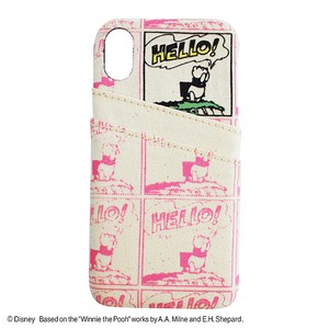 PRINT/POOH iPhone CASE/YY-D016 PK
