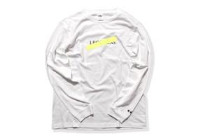 【neon logo long sleeve】 / neon yellow