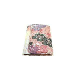 西陣織り&ヌメ革キーケースkk0039
