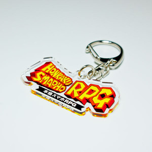 "Acrylic Key Ring ""本格スマホRPG"" (Discontinued)"