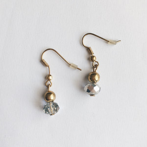 60s Vintage Earrings ヴィンテージビーズがゆらりピアス【1点物・送料無料】