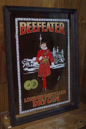 Beefeater London DRY GIN Vintage Pub Mirror
