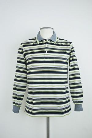 LeCENT【日本製】 メンズ 長袖ポロシャツ 39267 (M~Lサイズ)