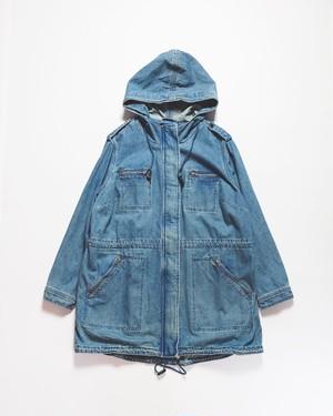 denim mods coat