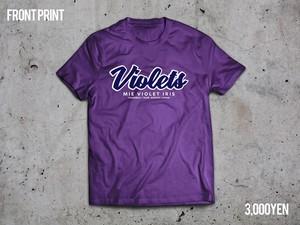 VIORETS Tシャツ★パープル